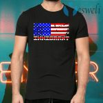 I stand with immigrants American T-Shirts