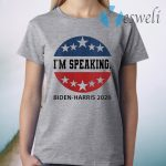 I'm Speaking VP Debate Harris Kamala Quote Biden-Harris 2020 T-Shirt