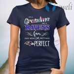 I'm a Grandma and a Ravens fan which means I'm pretty much perfect T-Shirt