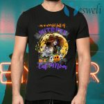In a World Full of Witches Be a Cat Mom Funny Halloween T-Shirts