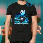 Jack Skellington face mask quarantined T-Shirts