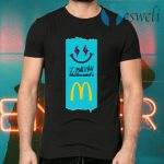 Jbalvin Merch J Balvin x McDonald's Fries T-Shirts