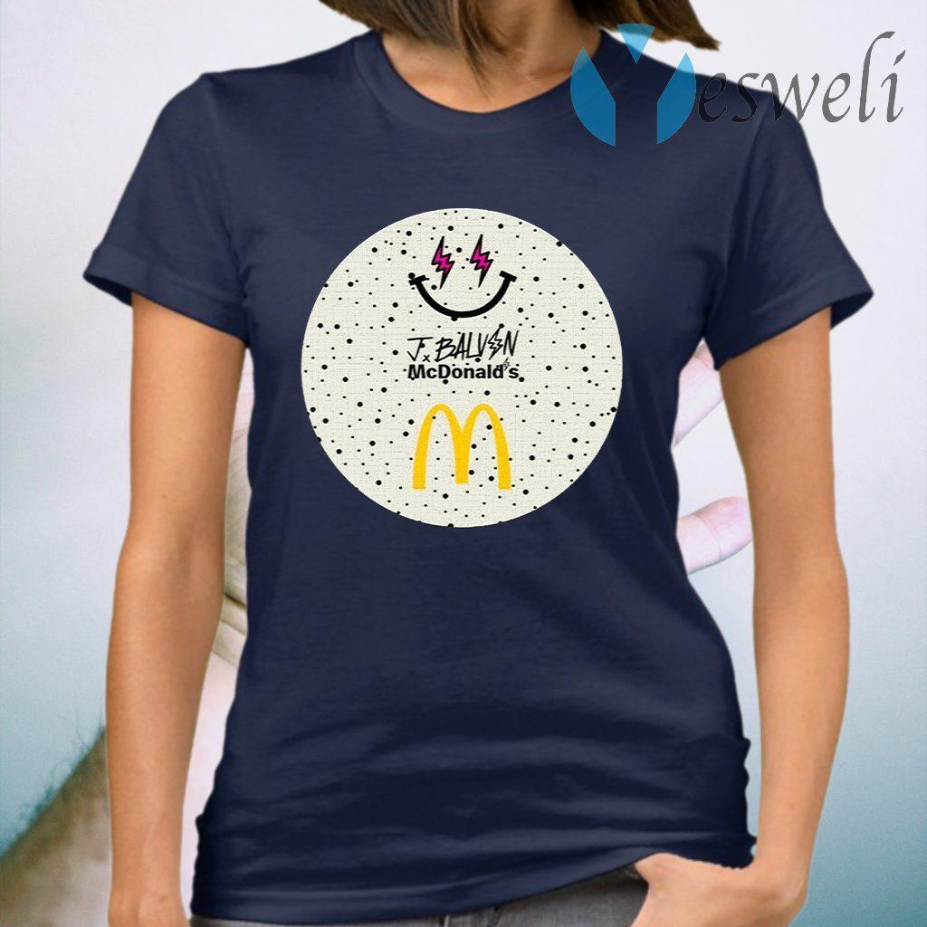 Jbalvin Merch JBalvin x McDonald's Ice Cream T-Shirt