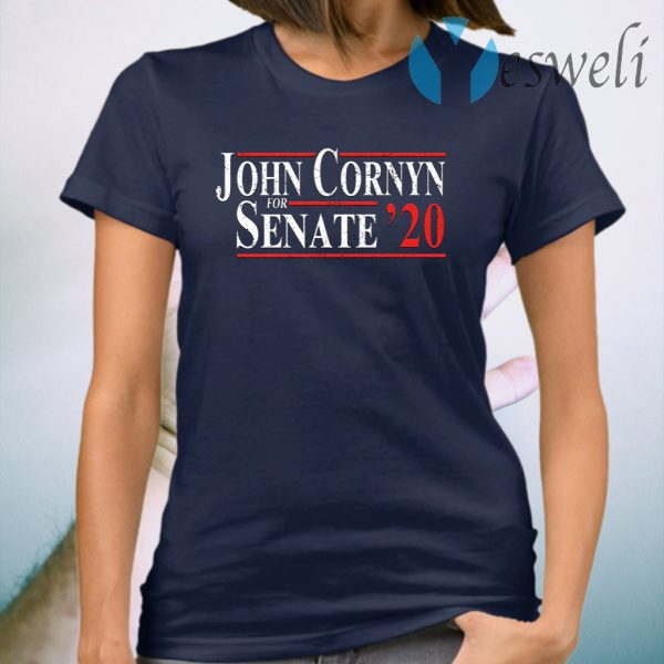 John Cornyn For Senate 2020 T-Shirt