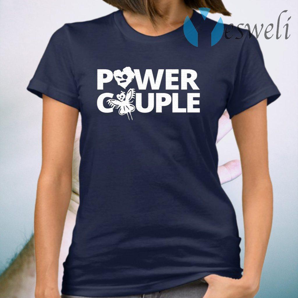 Johnny Gargano WWE Power Couple Cartoon T-Shirt