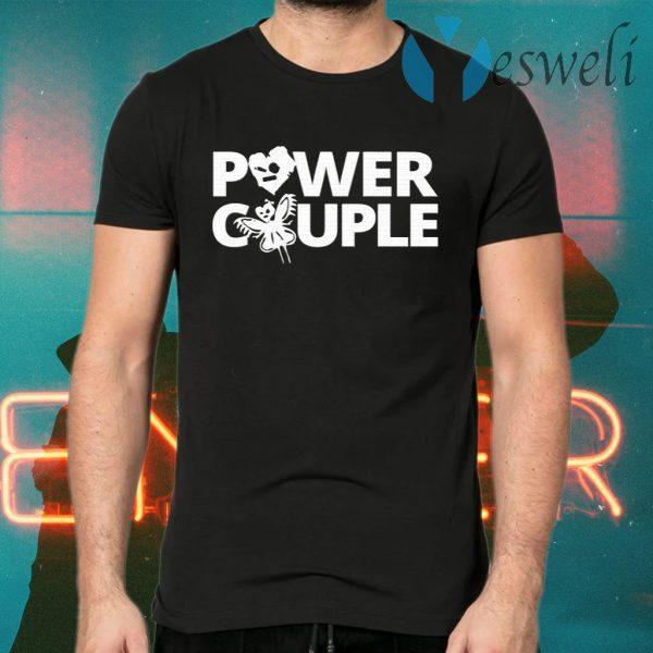 Johnny Gargano WWE Power Couple Cartoon T-Shirts