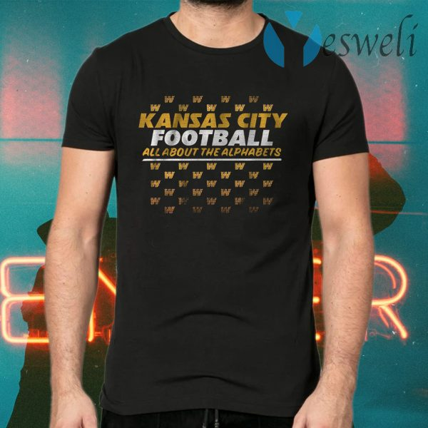 KC alphabet T-Shirts