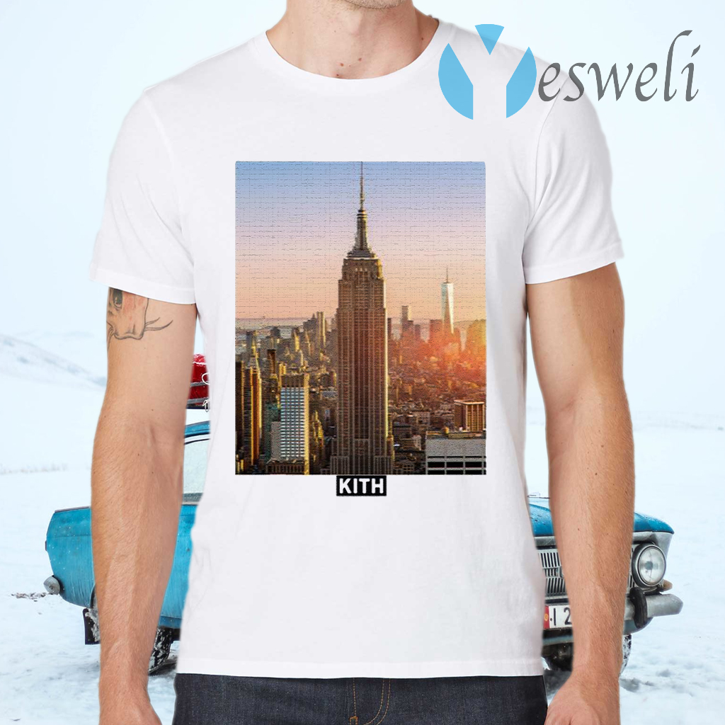 Kith 5 Borough Staten Island T-Shirts