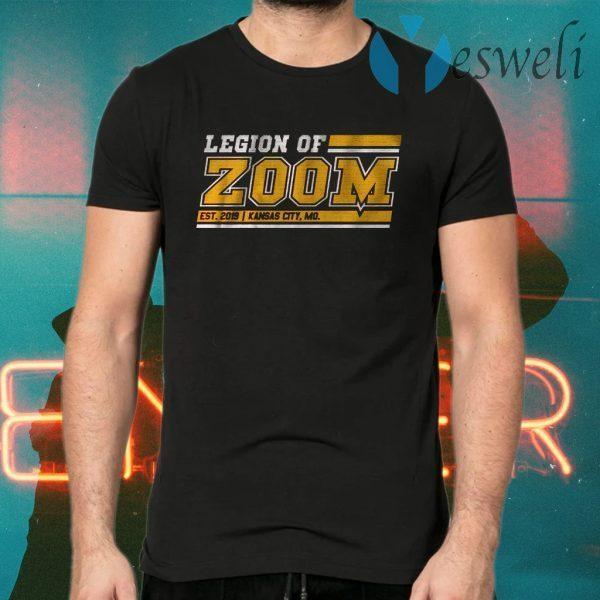 Legion of Zoom Kansas City Chiefs Football T-Shirts