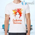 Leukemia Awareness Butterflies T-Shirts