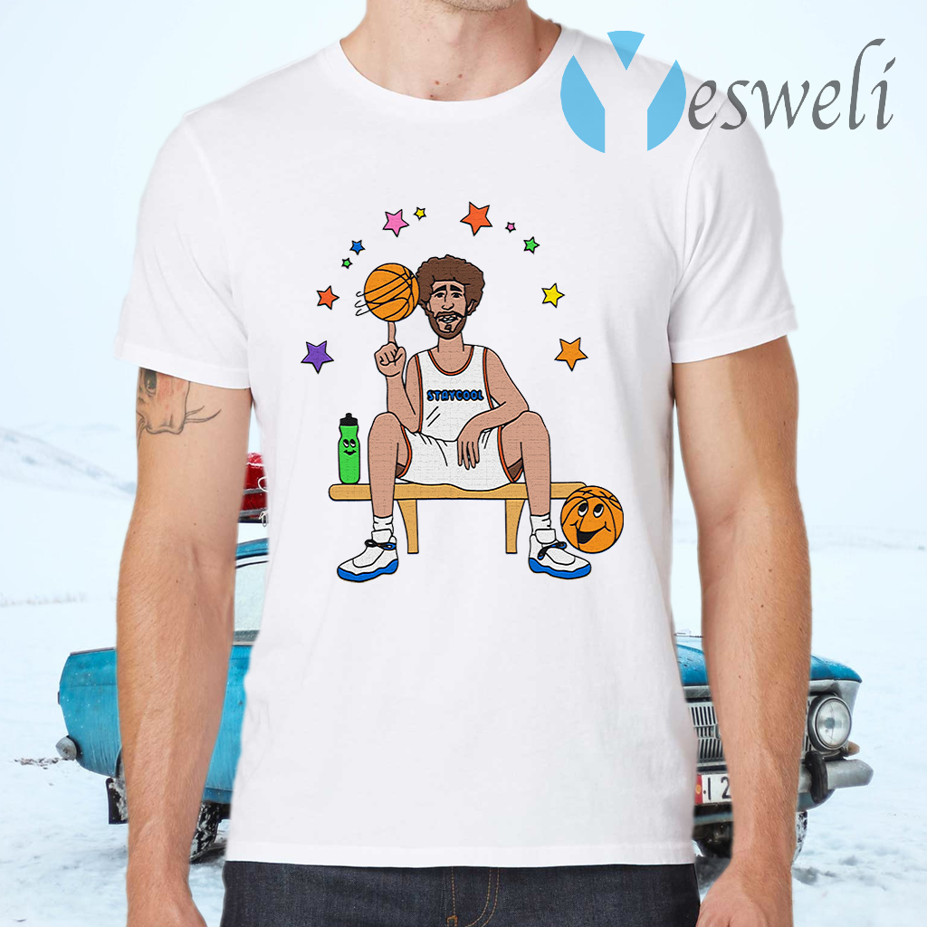 Lil Dicky X Staycool Courtside Crewneck T-Shirts