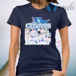 Los Angeles Dodgers 2020 World Series Champions T-Shirt