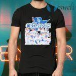 Los Angeles Dodgers 2020 World Series Champions T-Shirts