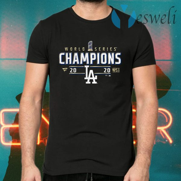 Los Angeles Dodgers World Series Championship T-Shirts