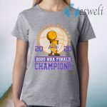 Los Angeles Lakers 2020 Nba Finals Champions T-Shirt
