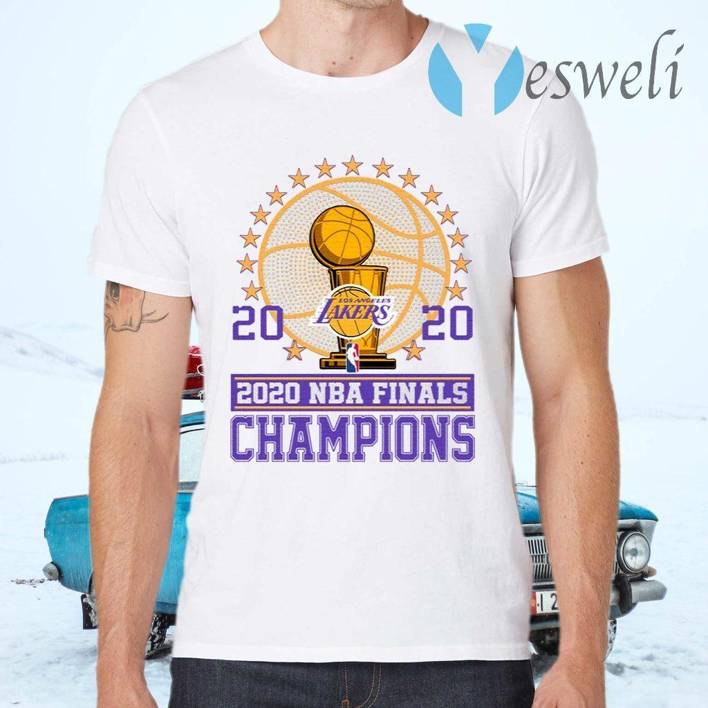 Los Angeles Lakers 2020 Nba Finals Champions T-Shirts