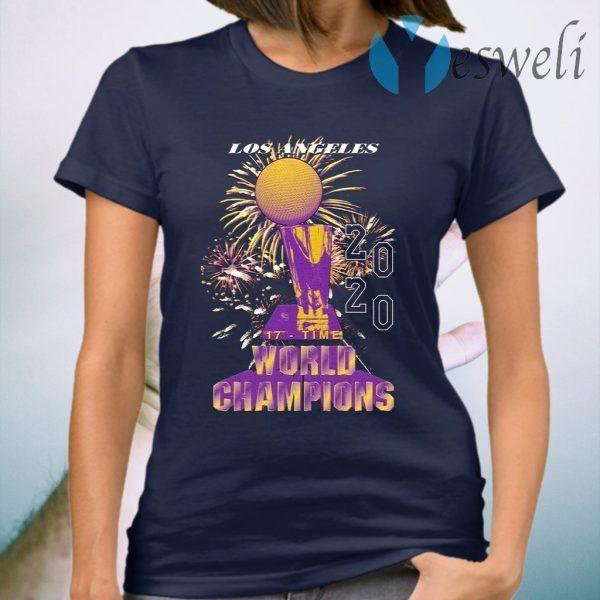 Los Angeles Lakers Championship 2020 T-Shirt
