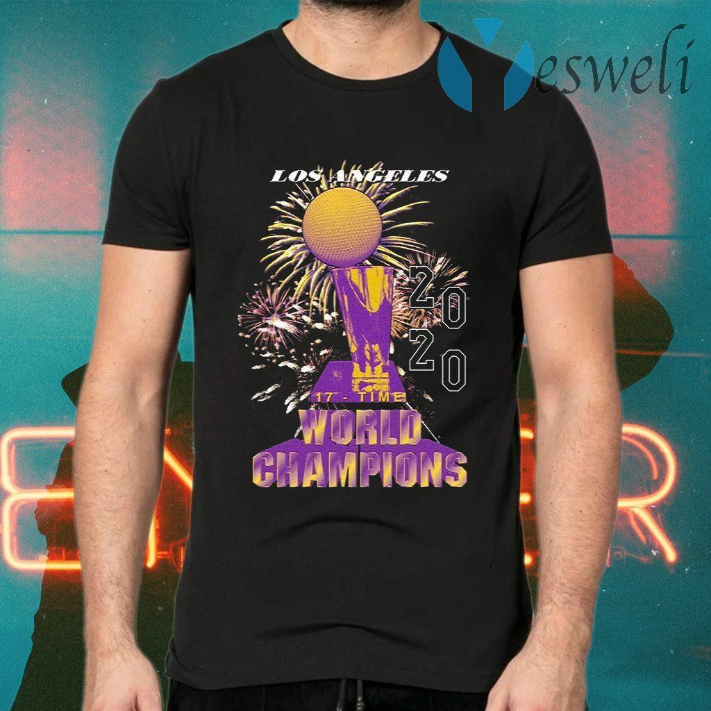Los Angeles Lakers Championship 2020 T-Shirts