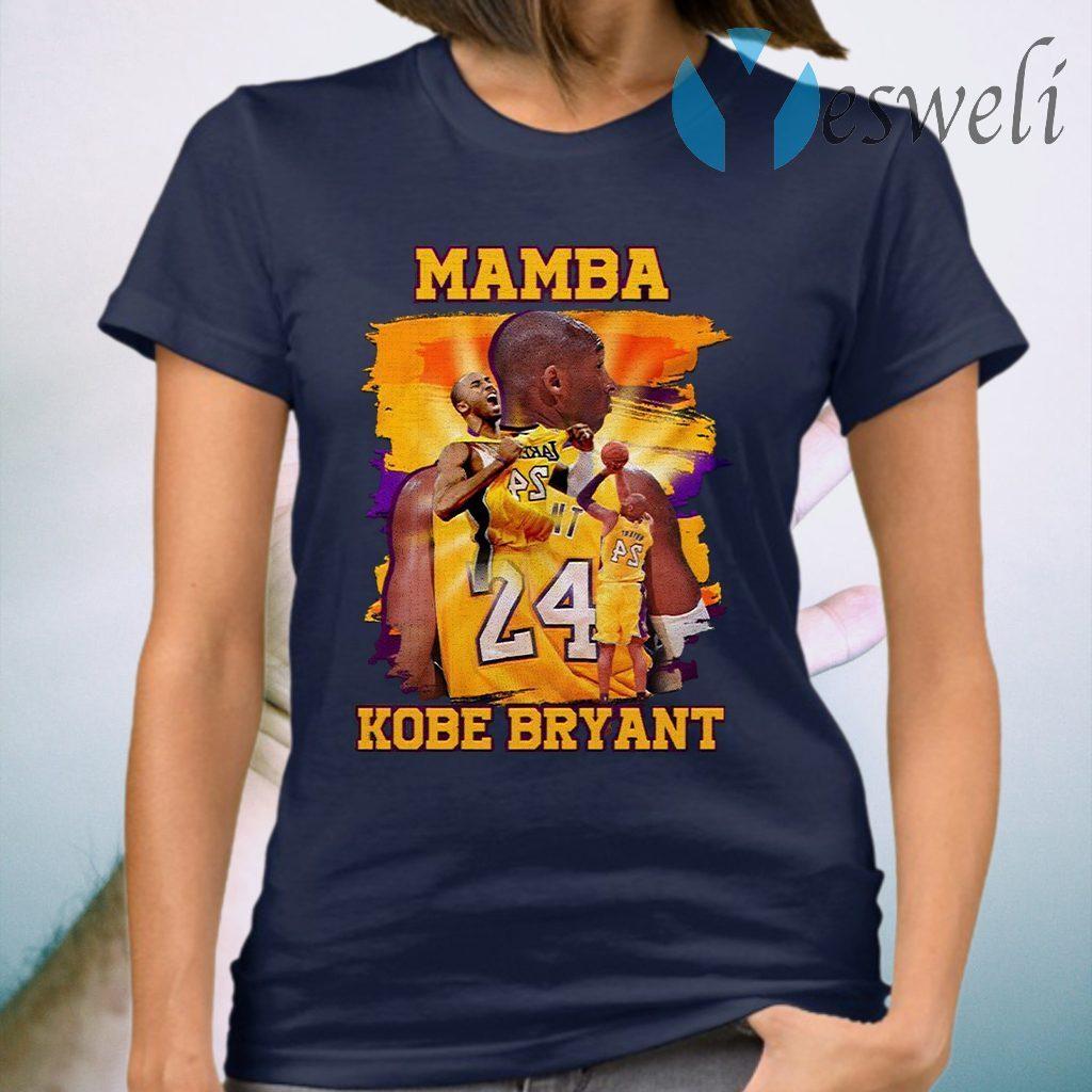 Mamba Kobe Bryant Vintage 90'S T-Shirt