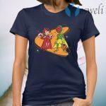 Marvel WandaVision Scarlet Witch & Vision Retro 50s T-Shirt