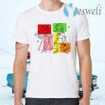 Marvel WandaVision Wanda And Vision 50s T-Shirts