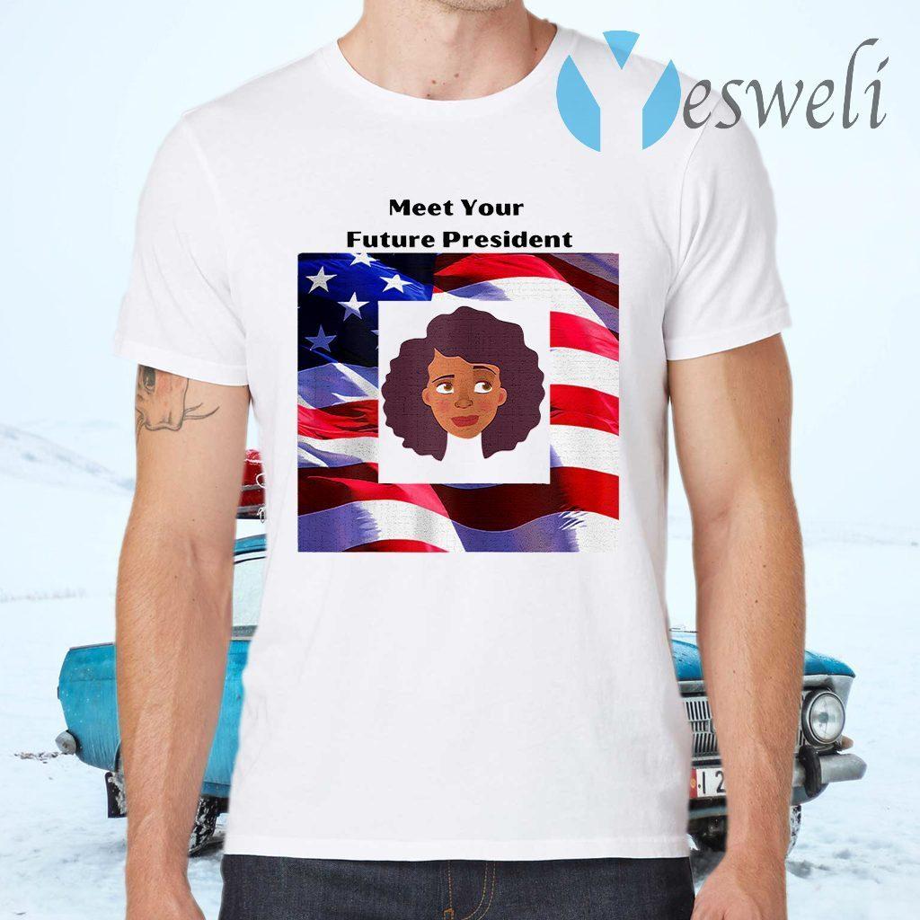 Meet Your Future President Kamala American flag Election T-Shirts