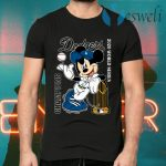 Mickey Mouse Dodgers Championship 2020 T-Shirts