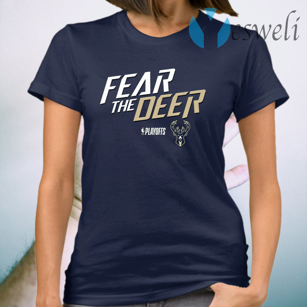 Milwaukee Bucks Fear The Deer T-Shirt