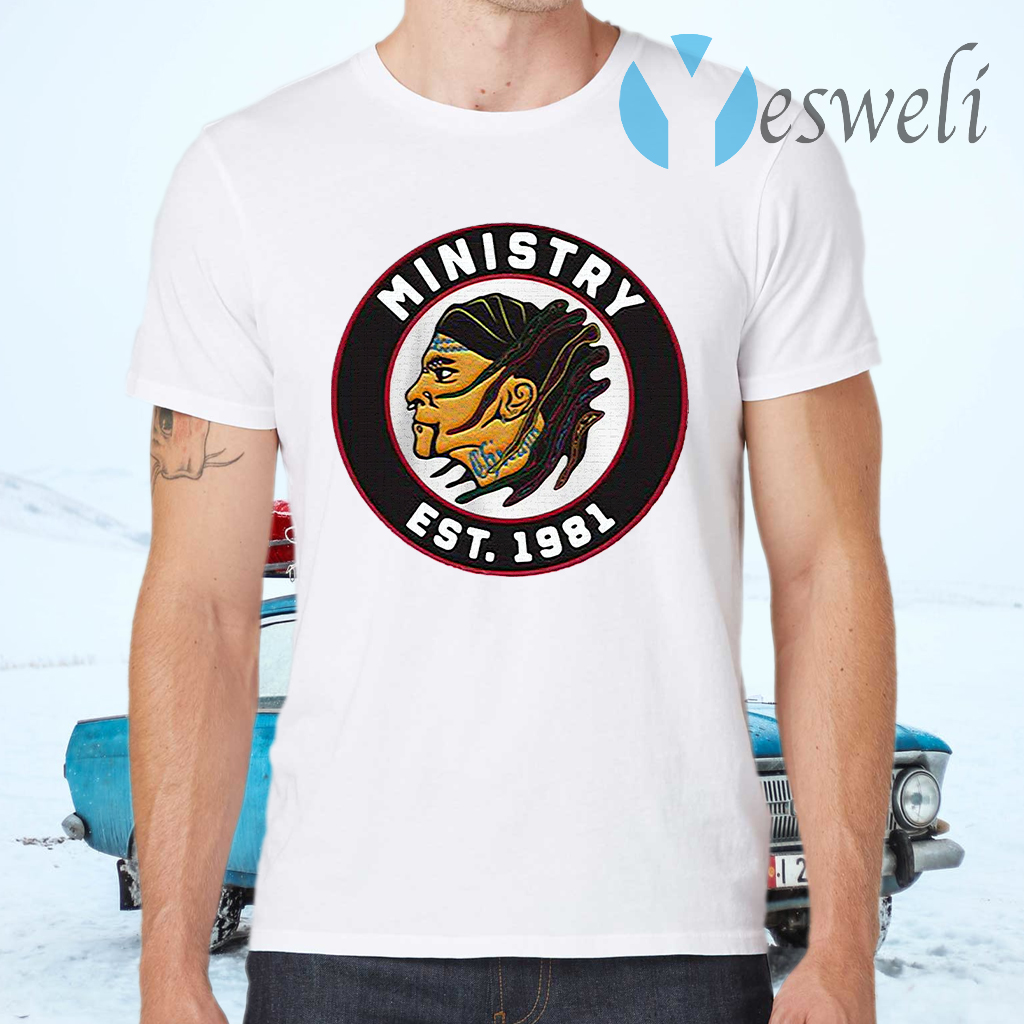 Ministry est 1981 firevall vintage T-Shirts