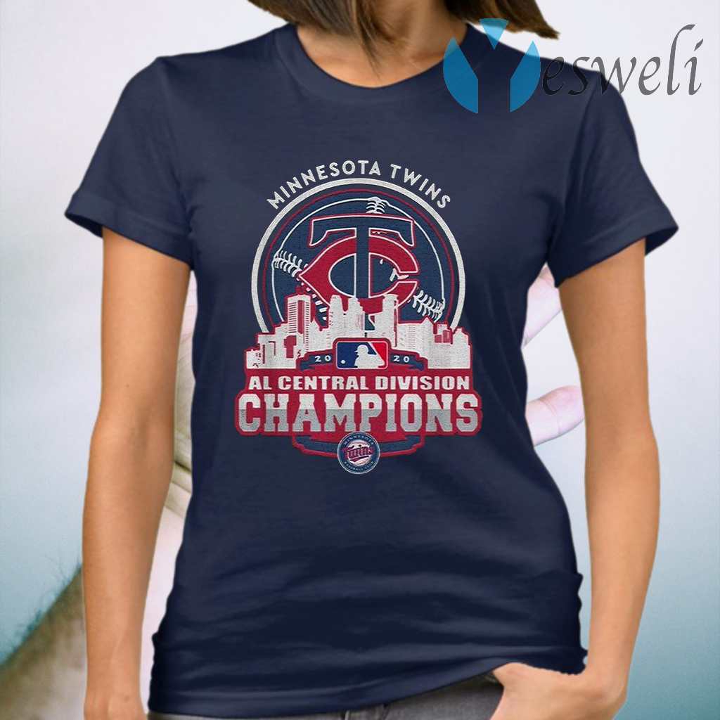 MinnesotaTwinsNlCentral Division Champions 2020 T-Shirt