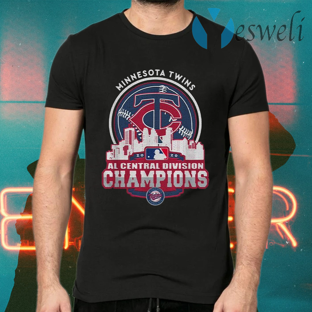MinnesotaTwinsNlCentral Division Champions 2020 T-Shirts