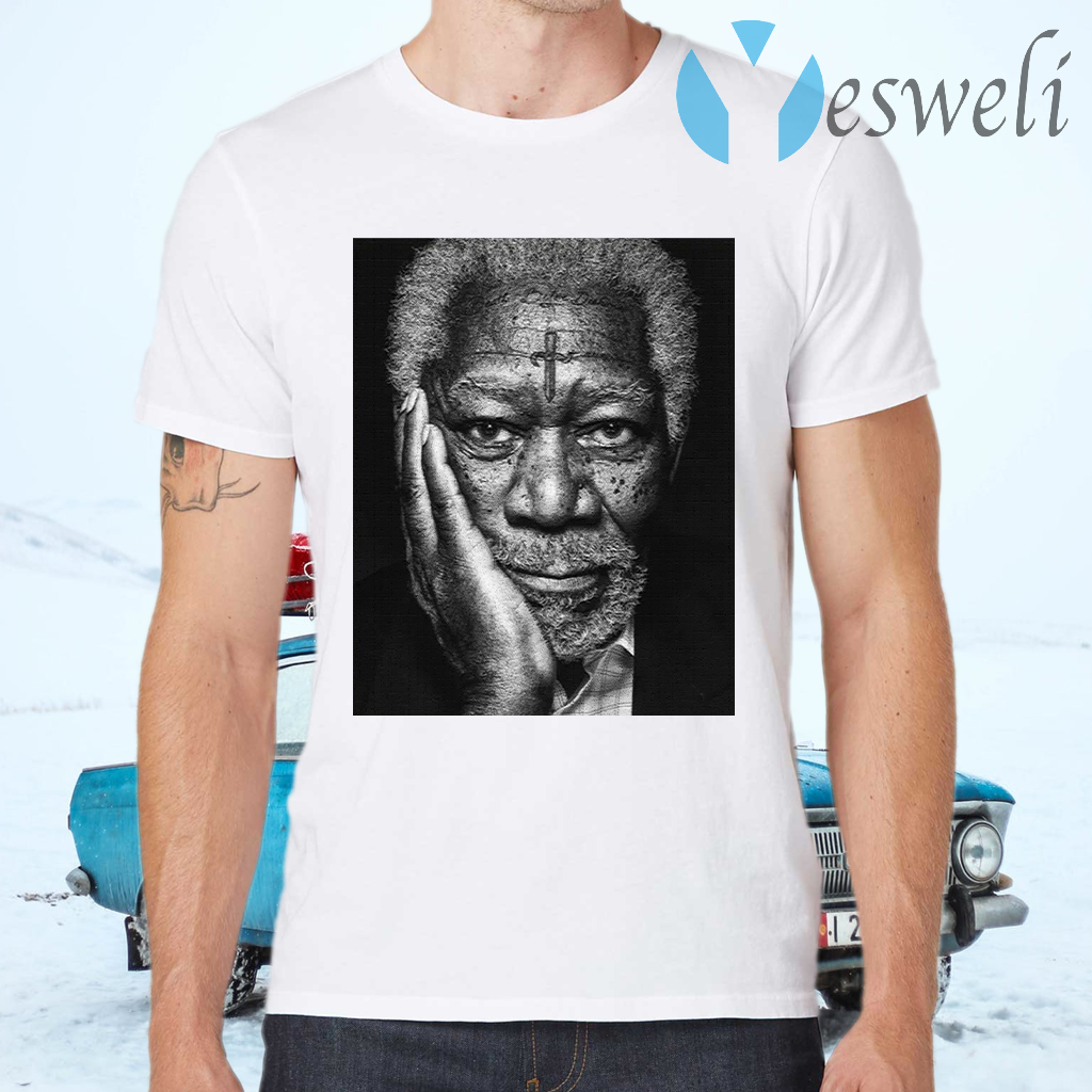 Morgan Freeman Photographed T-Shirts