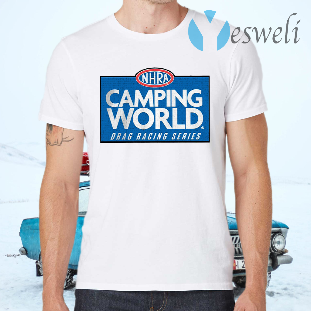 NHRA Camping World Drag Racing Series T-Shirts