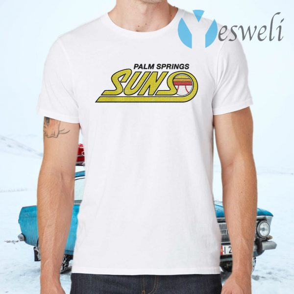 Palm Springs Suns Baseball T-Shirts