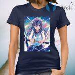 Pastel Aesthetic Anime Girl T-Shirt