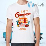 Personalized Happy Campers T-Shirts