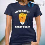 President Trump 2020 Halloween Make Candy Corn Great Again Women T-Shirt