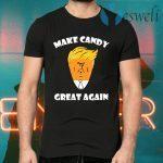 President Trump 2020 Halloween Make Candy Corn Great Again Women T-Shirts