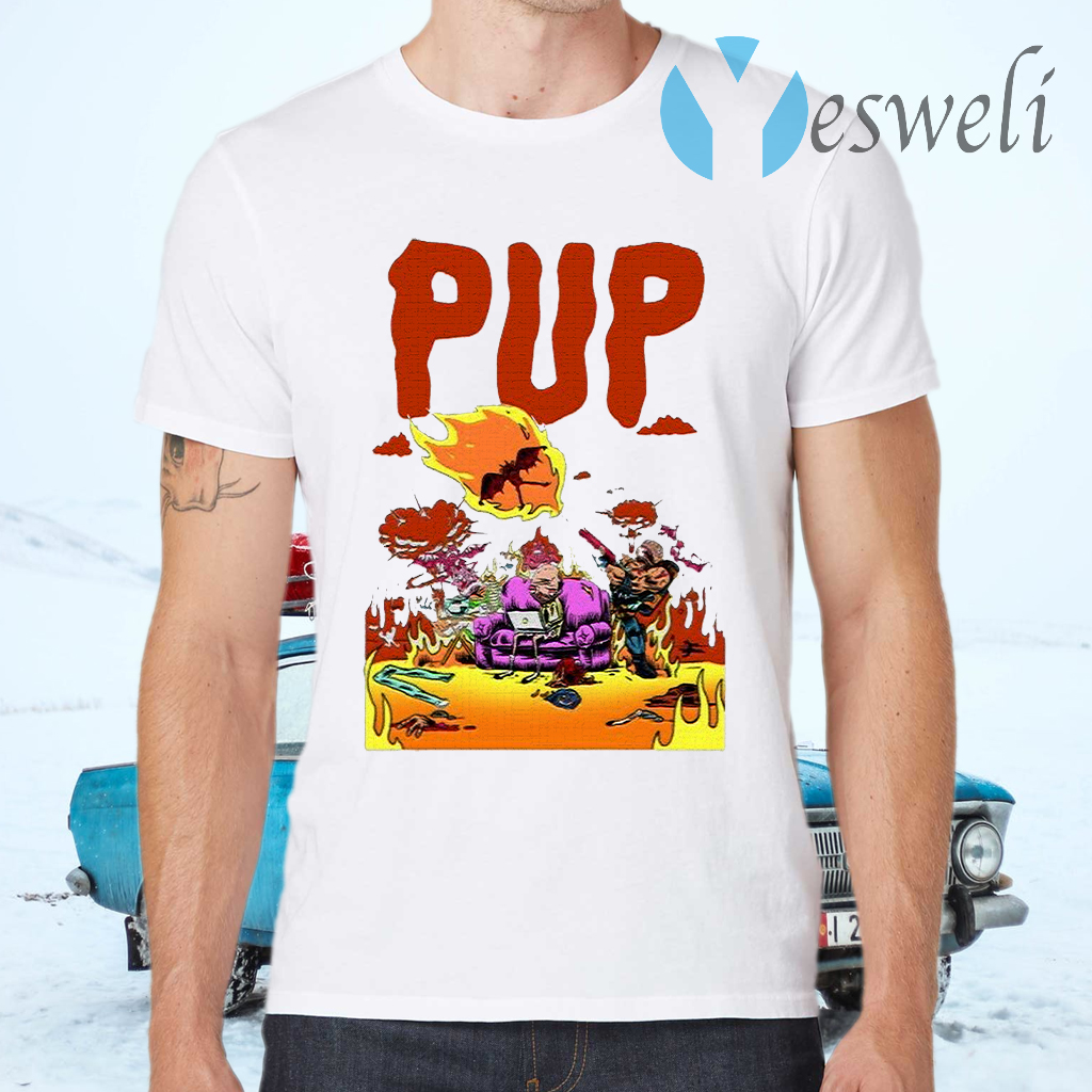 Pup The Band Merch Pup The Band Merch T-Shirts