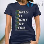 R A N D Y rakes all night day year T-Shirt