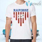Rapinoe Women USA Soccer Legends T-Shirts