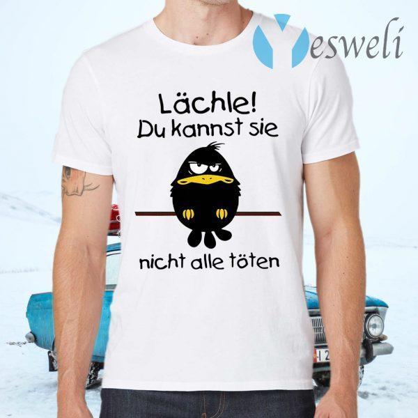Raven Lachle du kannst sie nicht alle toten T-Shirts