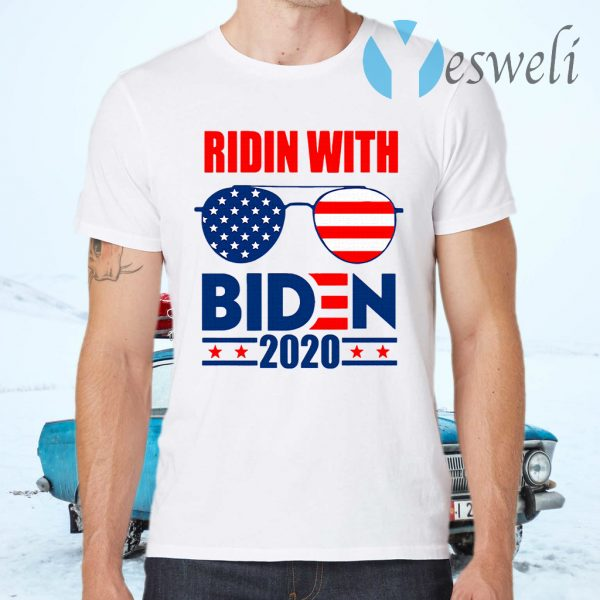 Ridin with biden 2020 T-Shirts