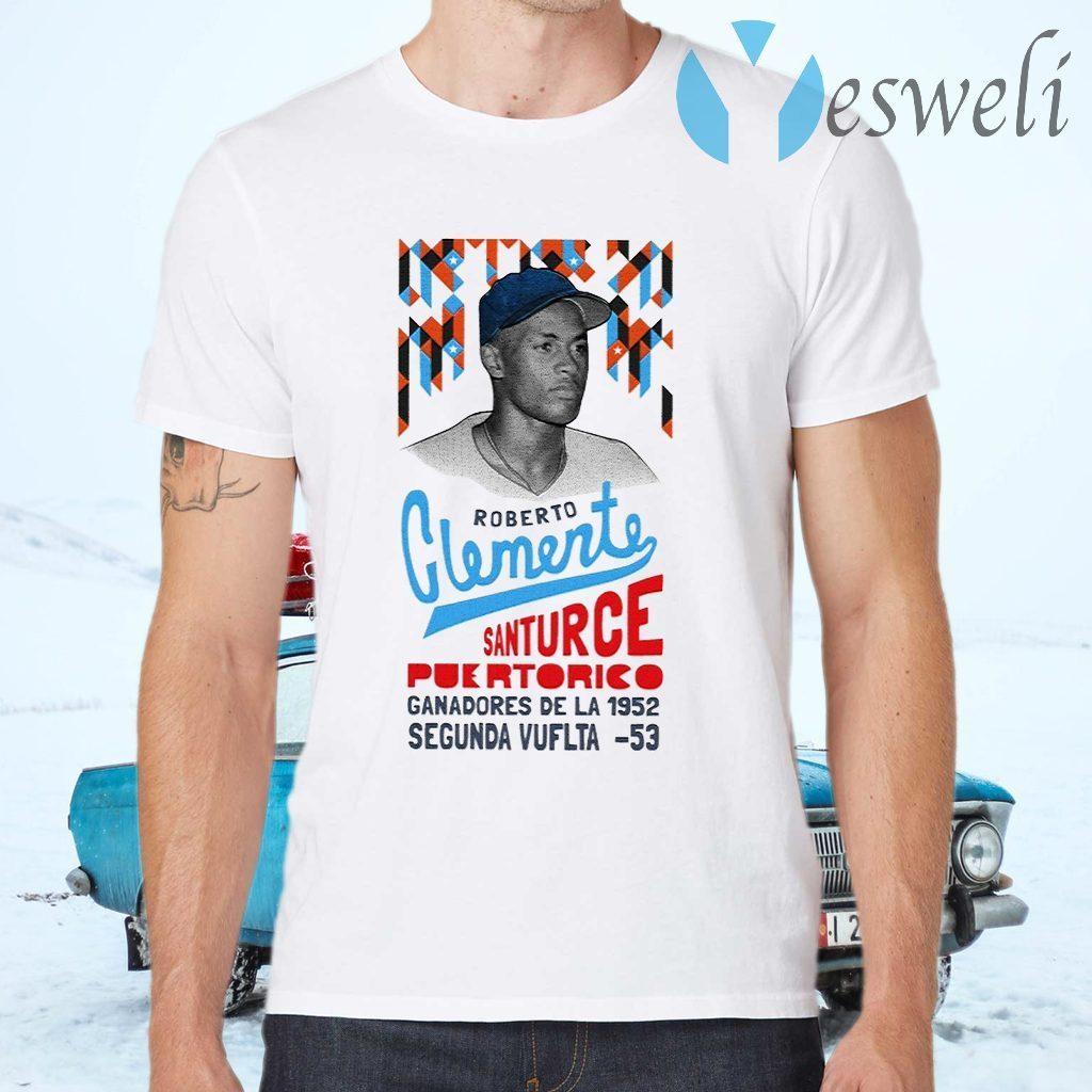 Roberto Clemente Santurce Puertorico T-Shirts