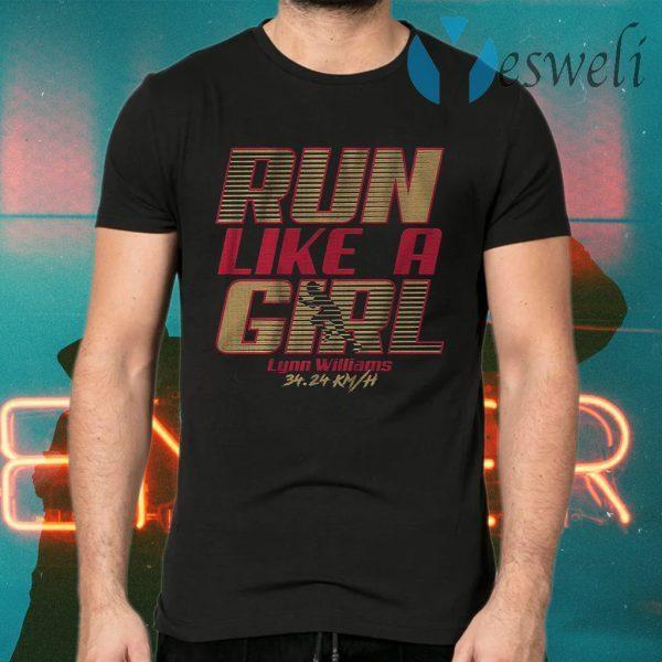 Run like a girl T-Shirts