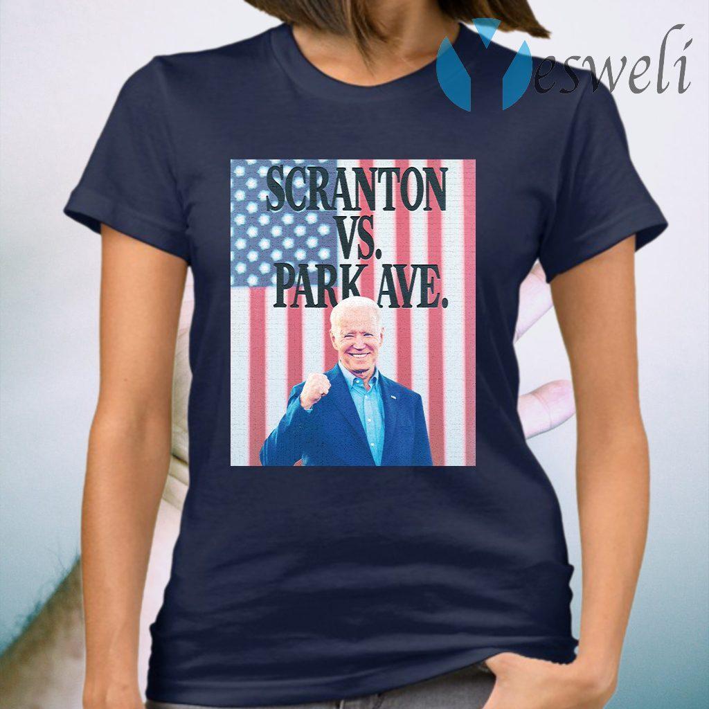 Scranton Vs. Park Ave Flag T-Shirt