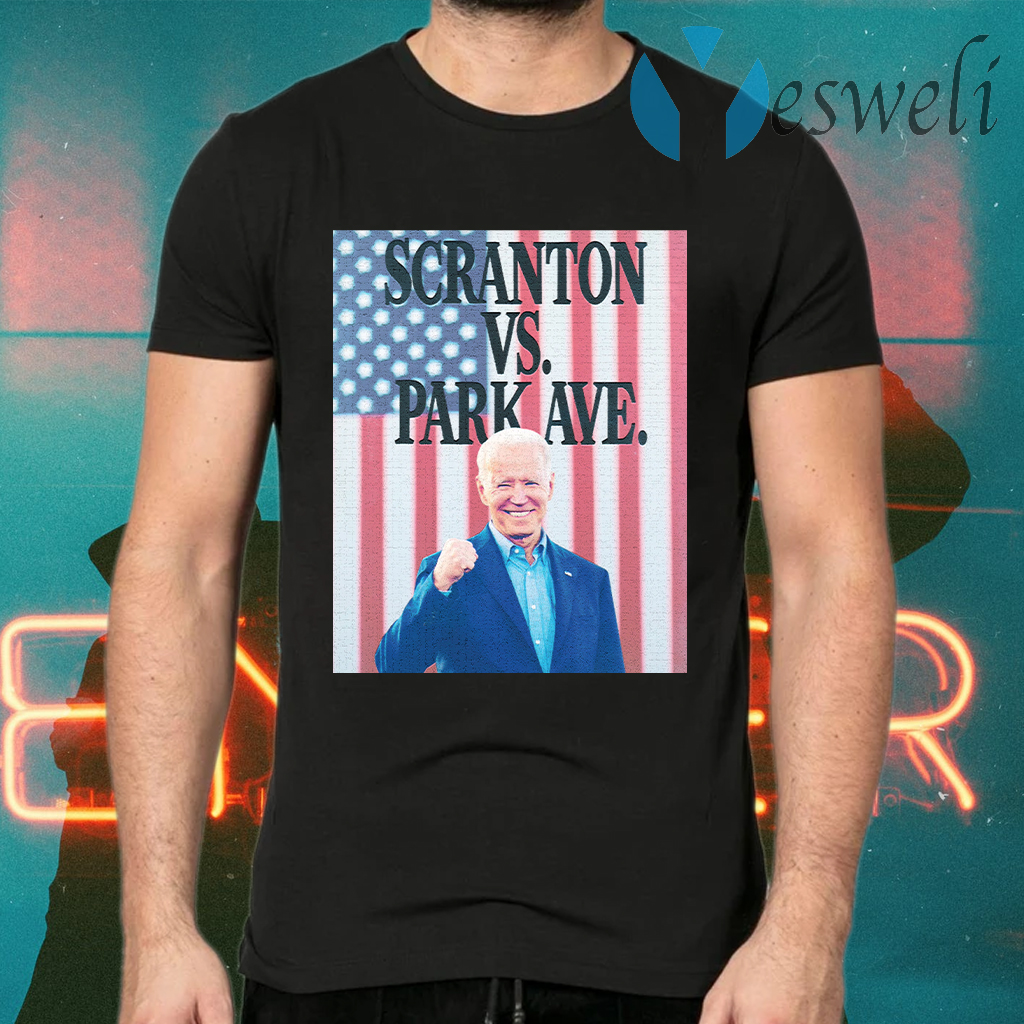 Scranton Vs. Park Ave Flag T-Shirts