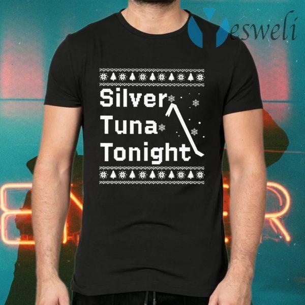 Silver Tuna Tonight Christmas T-Shirts