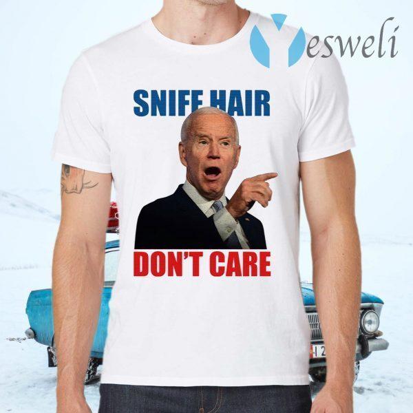 Sniff Hair Don't Care Creepy Joe Light T-Shirts