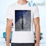 Star Wars Jedi Fallen Order Teaser Image Lightsaber T-Shirts